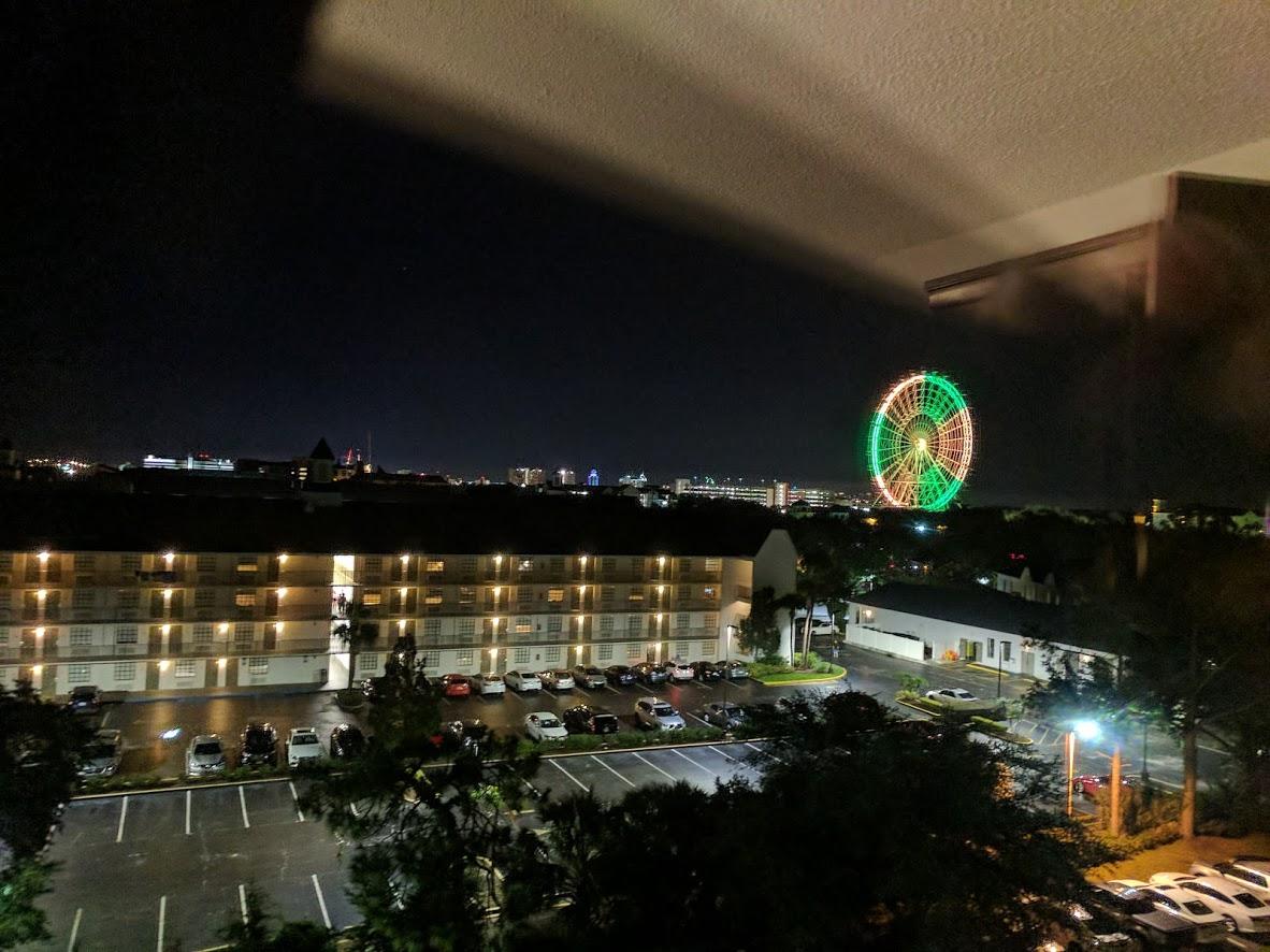 Glowing Ferris Wheel